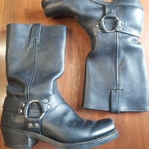 Black Frye Tall Boots